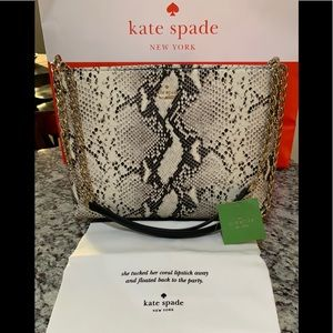 NWT Authentic Kate Spade Lorie Emerson Snake